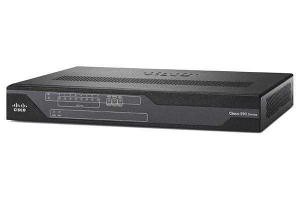 C897VA-M-K9 Cisco Systems 897VA Gigabit Ethernet security router with SFP  and VDSL/ADSL2+ Annex M